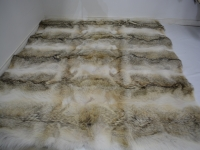 Coyote Fur Blanket/Throw