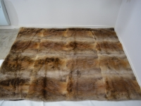 Beaver Fur Blanket/Throw